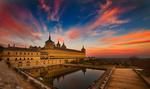 Обои Великий монастырь за пределами Мадрида, Испания, by Peter Dekker