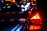 Обои Автомобиль на ночной улице города