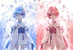 Обои Дети Ram / Рам и Rem / Рем аниме Re: Zero kara Hajimeru Isekai Seikatsu / Re: Жизнь в альтернативном мире с нуля