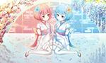 Обои Дети Ram / Рам и Rem / Рем из аниме Re: Zero kara Hajimeru Isekai Seikatsu / Re: Жизнь в альтернативном мире с нуля