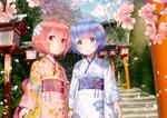 Обои Дети Rem / Рем и Ram / Рам арт аниме Re: Zero kara Hajimeru Isekai Seikatsu / Re: Жизнь в альтернативном мире с нуля