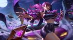 Обои Evelynn / Эвелинн арт персонажа из игры League of Legends / Лига Легенд