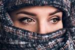 Обои Девушка в парандже, фотограф Гарипова Элина