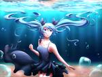Обои Vocaloid Miku Hatsune / Вокалоид Мику Хацунэ, by Hinna-chan