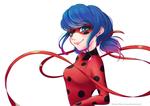 Обои Marinette Dupain Cheng / Маринетт Дюпэн-Чэн и Tikki / Тикки из мультсериала Miraculous: Tales of Ladybug & Cat Noir / Леди Баг и Супер-Кот, by Hinna-chan