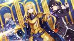 Обои Alice / Алиса, Kirito / Кирито и Eugeo / Юджио аниме Sword Art Online Alicization / Мастера Меча Онлайн Алисизация