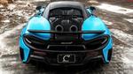 Обои Английский Fistral Blue спорт кар McLaren 600LT on ANRKY AN11 Wheels