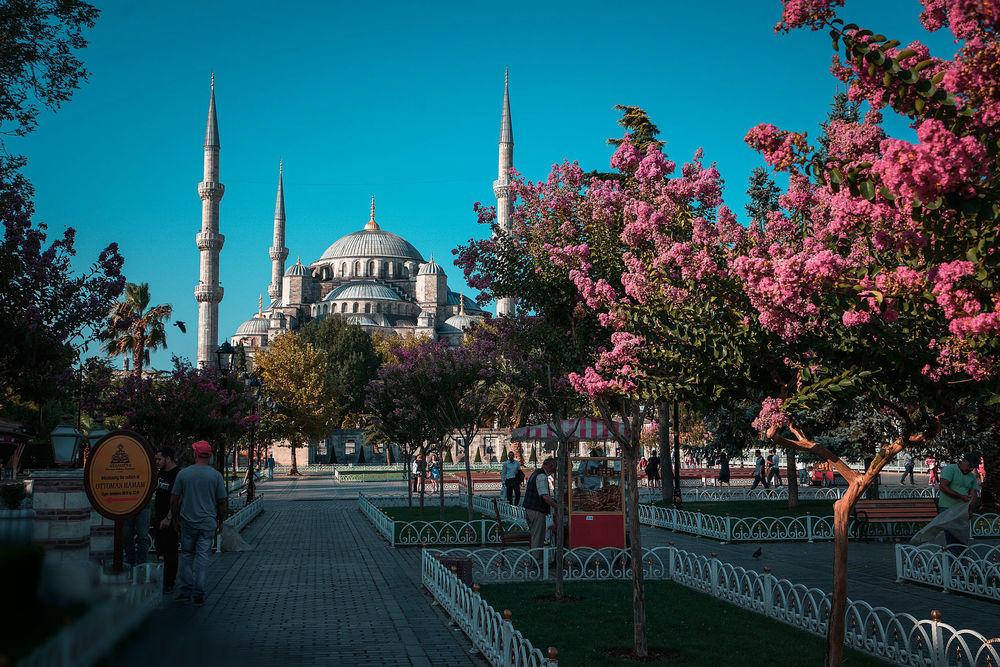 Обои для рабочего стола Люди на улице, Istanbul / Cтамбул, Турция, by Daria Klepikova