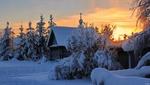 Обои Зима в Карелии