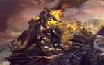 Обои Battle for Azeroth / Битва за Азерот, арт к игре World of Warcraft / Мир военного ремесла, by Bayard Wu