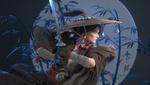 Обои Девушка -воин с мечом в руках, by jin ming