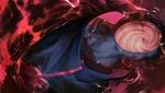Обои Оbito Uchiha / Обито Учиха / Тоби лежит в кровавой воде из аниме Наруто / Naruto