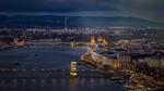 Обои Вид на ночной Budapest / Будапешт, Венгрия / Hungary by Roland Albanese