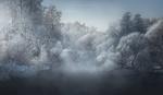 Обои Морозное утро на реке, фотограф Ilya Melikhov