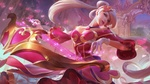 Обои Sona / Сона из игры League of Legends / Лига Легенд, by Lian Li & OXAN
