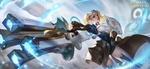 Обои Девушка с оружием из игры Arena of Valor / Арена Доблести, by Weifeng Liu