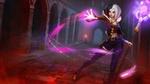 Обои Wicked LeBlanc / Злая Леблан арт персонажа из игры League of Legends / Лига Легенд