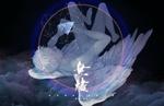 Обои Ангел лежит на облаках, by sunomono