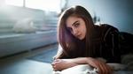 Обои Модель Лиза Цепалова смотрит прямо, фотограф Lenar Abdrakhmanov