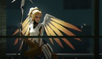Обои Mercy / Ангел / Ангела Циглер из игры Overwatch / Дозор, by Lucia Hsiang