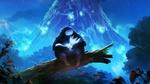 Обои Naru / Нару и Ori / Ори, арт к видеоигре Ori and the Blind Forest / Ори и Непроглядный лес
