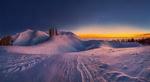 Обои Зимняя Абхазия и Черное море на закате, фотограф Лашков Федор