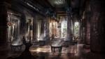 Обои Внутреннее убранство дворца фараона, by Armando Savoia