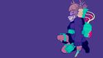 Обои Himiko Toga / Химико Тога из аниме Boku no Hero Academia 2nd Season / Моя геройская академия 2, by sanoboss