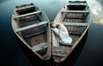 Обои Модель Aleksandra Zygo в лодке, фотограф Dorota Gorecka