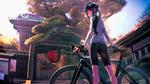Обои Shiki Mori / Шики Мори из аниме Minami Kamakura Koukou Joshi Jitenshabu / Девичий велоклуб Минами Камакуры, by sanoboss