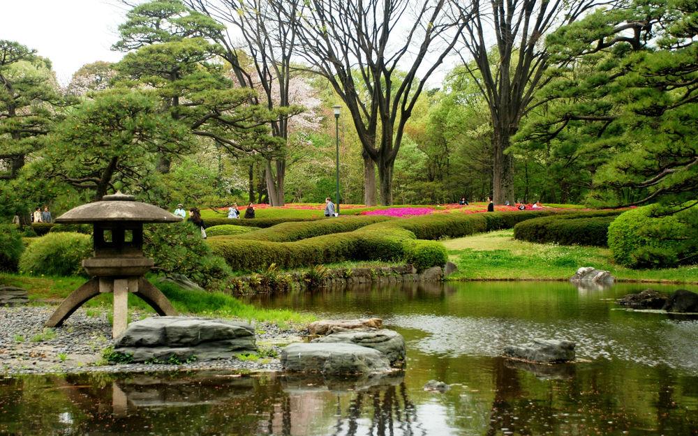 японский сад картинки для рабочего стола вынуждены участвовать этой
