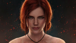 Обои Triss Merigold / Трисс Меригольд из игры The Witcher 3: Wild Hunt / Ведьмак 3: Дикая Охота, by astoralexander