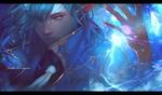 Обои Ice magician / Ледяной маг из игры Kritika:The White Knights, by RD LYS