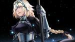 Обои Ruler / Рулер из аниме Fate / Apocrypha / Судьба / Апокриф, by husky0405