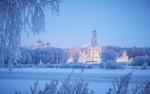 Обои Юрьев Монастырь зимой, Великий Новгород, фотограф Кононов Антон