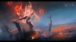 Обои Королева дракона, League of Angels / Лига Ангелов, by WayneChan