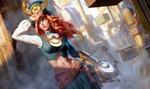 Обои Девушка-стрелок Lindis / Линдис из игры Arena of Valor / Арена Доблести, by Zezhou Chen