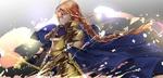 Обои Alice / Алиса в доспехах из аниме Sword Art Online Alicization / Мастера Меча Онлайн Алисизация