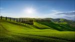 Обои Tuscany / Тоскана весной, Италия, by Georg Scharf