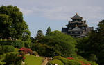 Обои Феодальный замок в парке Koraku-en / Кораку-эн, Japan / Япония