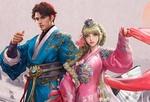 Обои Мужчина и девушка в национальных корейских костюмах из игры MU Origin 2, by seunghee lee