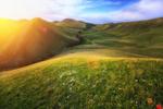 Обои Рассвет в горах. Фотограф Сагайдак Павел
