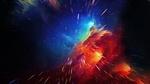 Обои Цветная абстракция в космическом пространстве