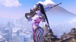 Обои Widowmaker / Роковая Вдова из игры Overwatch / Дозор, by Renaud Galand
