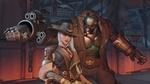 Обои Ashe and Bob / Эш и Боб из игры Overwatch / Дозор, by Renaud Galand