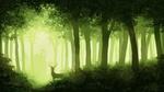 Обои Олень в лесу, by Juh-Juh