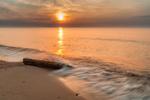 Обои Закат солнца над морем. Фотограф MichaЕ' Ciesielski