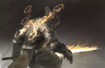 Обои Ангел-воин Seraph / Серафим из игры Diablo, by Mingchen Shen