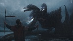 Обои Богатырь стоит перед Змеем Горынычем, by Евгений Зубков