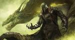 Обои Воин и дракон в тумане, by fang xinyu